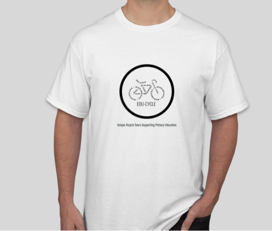 EDU-CYCLE T SHIRT FRONT